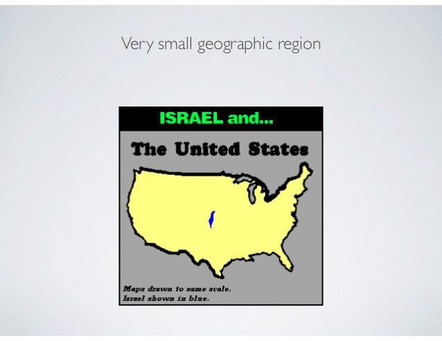 Very small geographic region