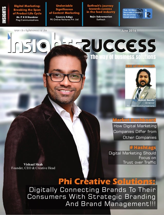The way of business solutions The 10 Most Valuable Digital Marketing CompaniesMr. P K D Nambiar Flag Communications Digita...