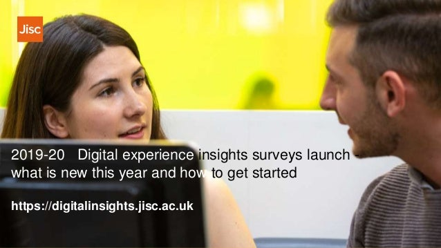 2019-20 Digital experience insights surveys launch - what is new this year and how to get started https://digitalinsights....