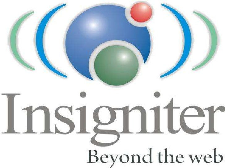 INSIGNITER<br />BEYOND THE WEB <br />