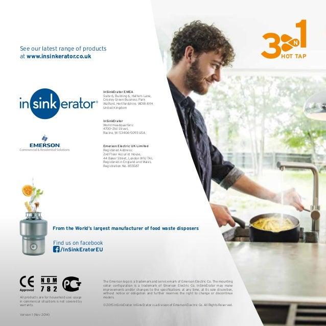 insinkerator 3n1 kitchen taps brochure 2016 - Kitchen Sink Erator