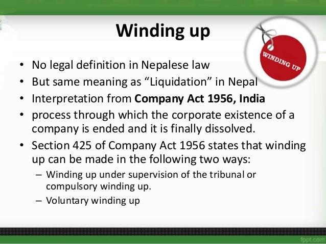 liquidation business law definition