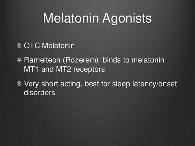 Mirtazapine For Sleep Problems