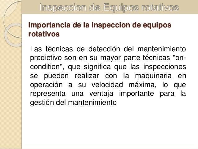 Tecnicas de inspeccion de lubricantes