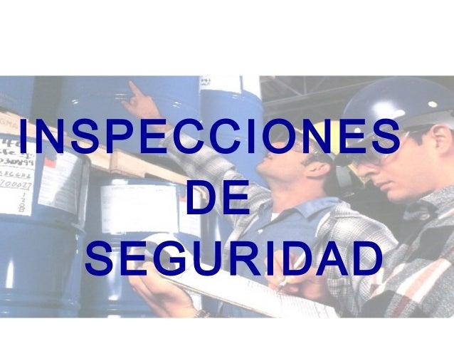 1 DIVISION DE CAPACITACION CODIGO 2164 DCAP INSPECCIONES DE SEGURIDAD