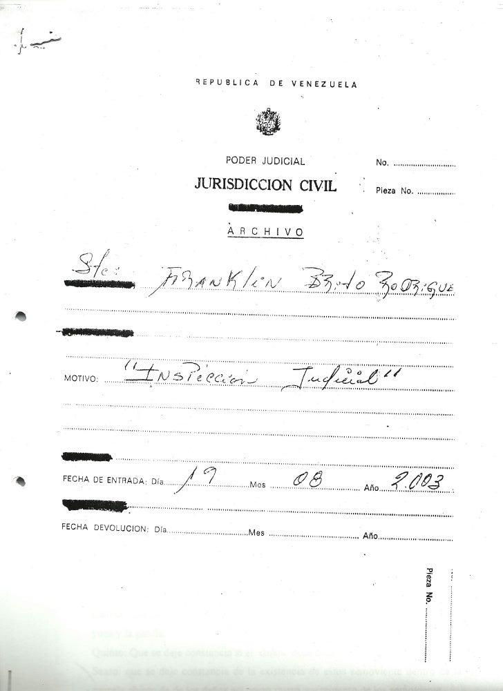 Inspeccion judicial 2003 solicitada por franklin brito[1]