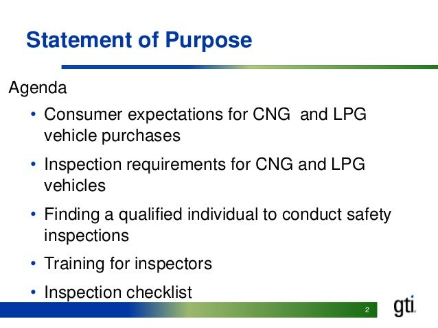 Inspection Guidelines for CNG & LPG Vehicle Conversions