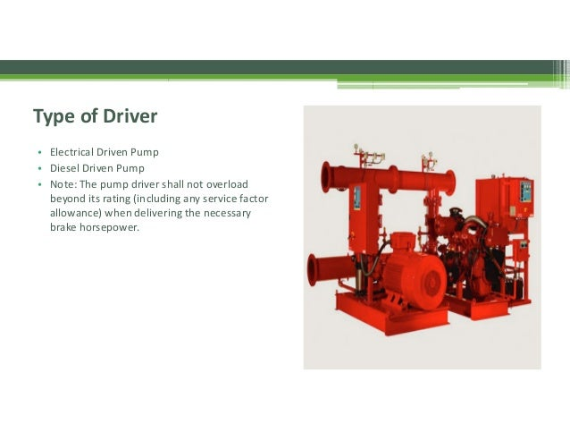 Inspection, Testing and Maintenance of fire pump