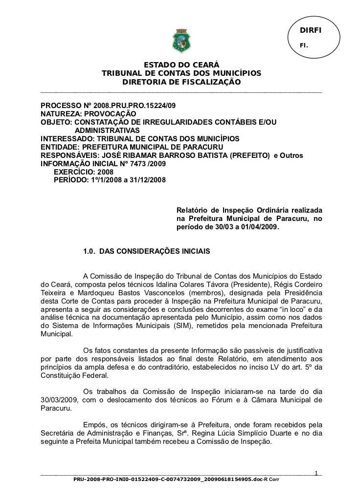 DIRFI                                                                                Fl.                           ESTADO ...