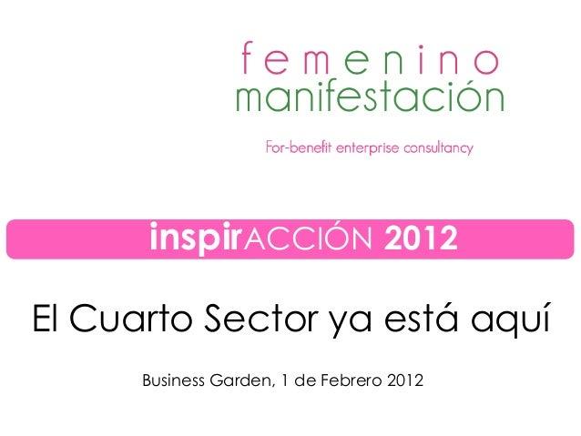 Charla inspirACCIÓN 2012: \