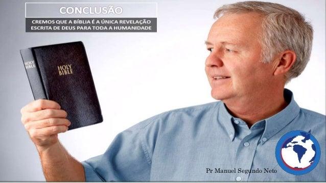 INSPIRAÇÃO DIVINA E AUTORIDADE DA BÍBLIA