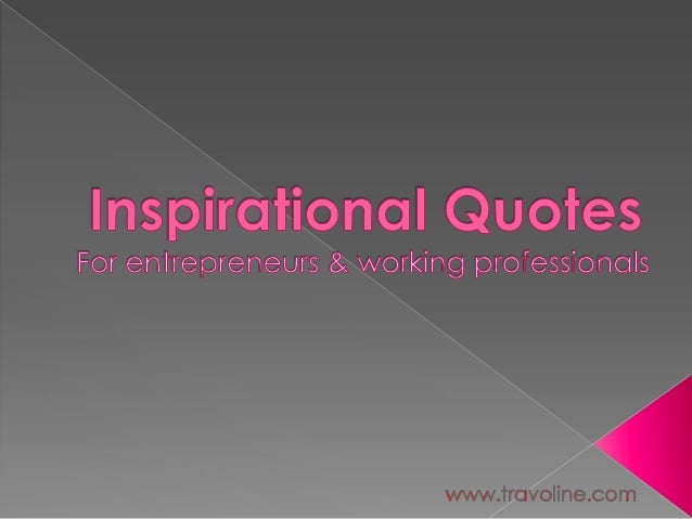 Inspirational management-quotes