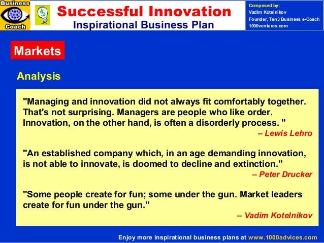 Sample Business Plans