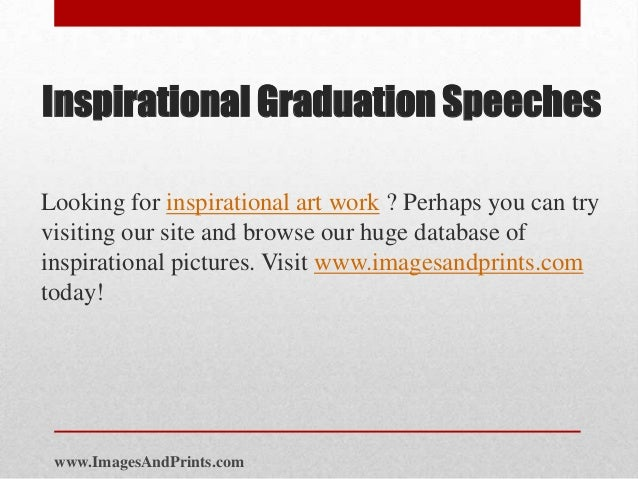 graduation day speech Welcome and thank you for visiting i hope you find this page helpful below are thirteen graduation speeches i have delivered as a principal or headmaster or head of.