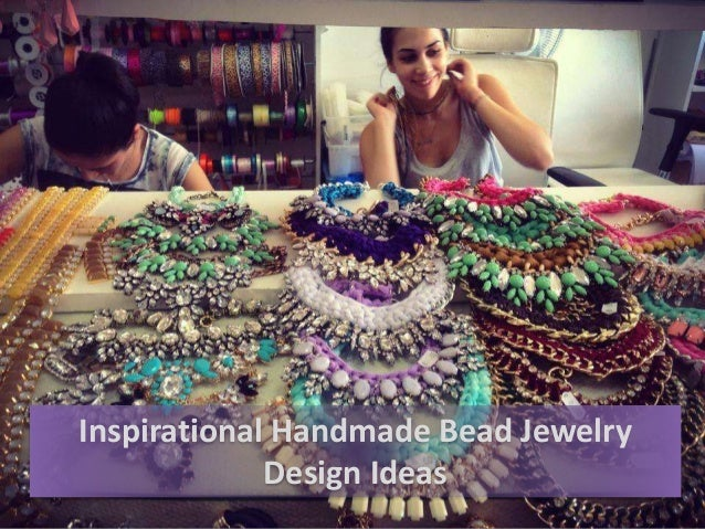 Inspirational Handmade Bead Jewelry Design Ideas