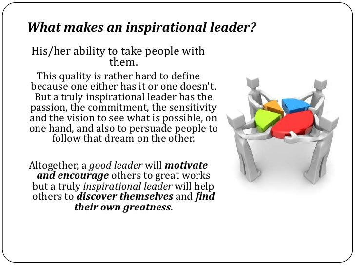 Inspirational Leader Vs Good Leader – What's the difference?