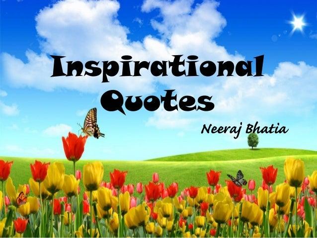 Inspirational Quotes Neeraj Bhatia 1