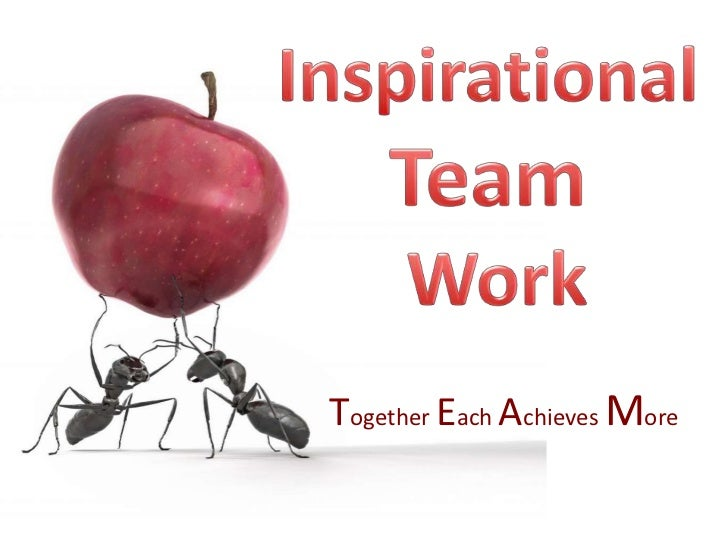 Together Each Achieves More
