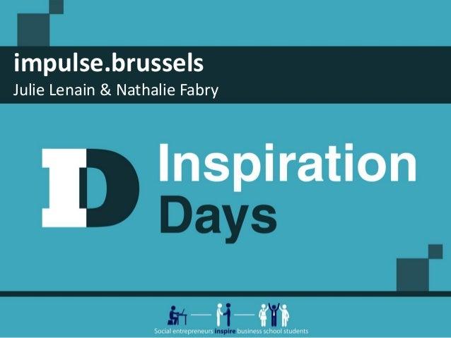 impulse.brussels Julie Lenain & Nathalie Fabry
