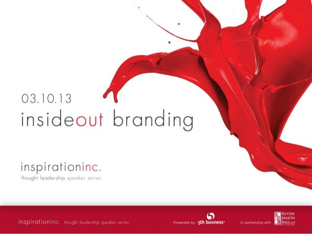 creating brand champions Margo Hunnisett Vice President, Client Services, 5th business margo.hunnisett@5thbusiness.com