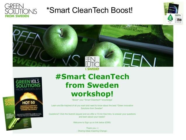 *Smart CleanTech Boost!