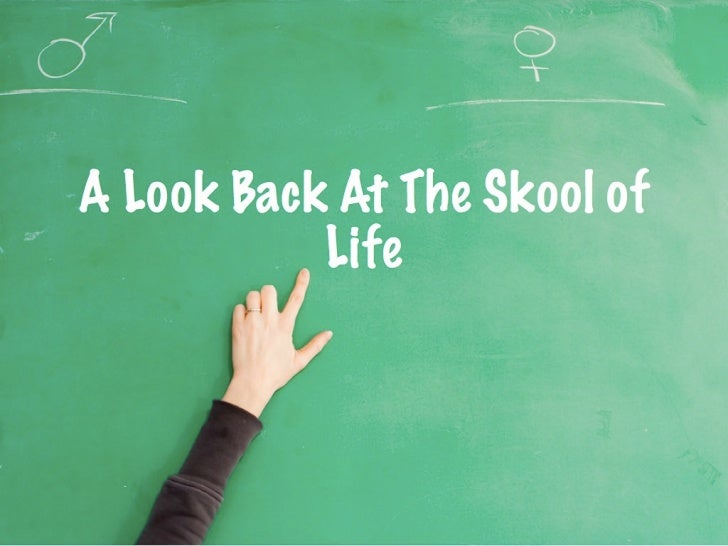 A Look Back at The Skool of Life
