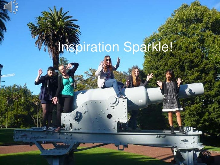 Inspiration Sparkle!