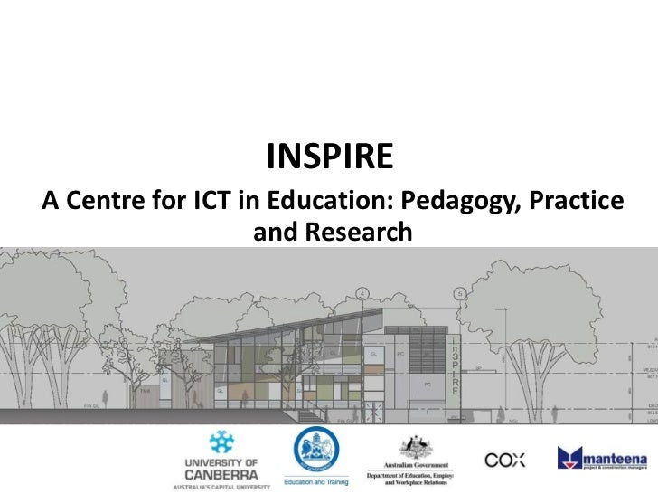 INSPIRE<br />A Centre for ICT in Education: Pedagogy, Practice and Research <br />