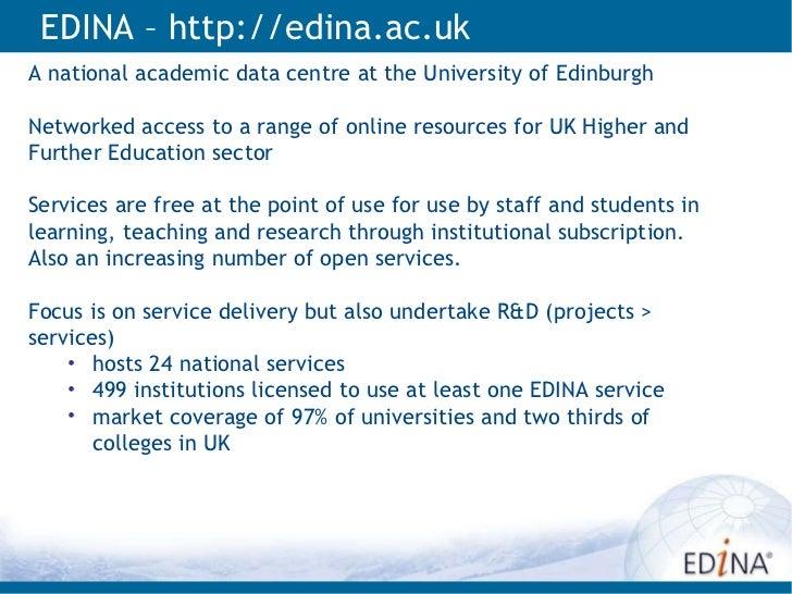 INSPIRE Awareness Raising within UK HEFE Slide 2