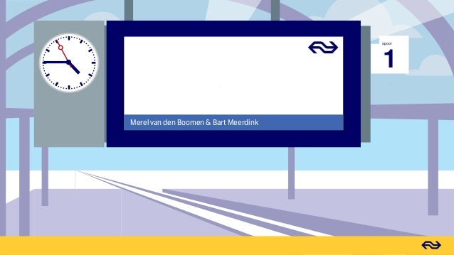 inSpired Event 2017 - NS (Dutch Railways) - From service forum to revenue driver Slide 2