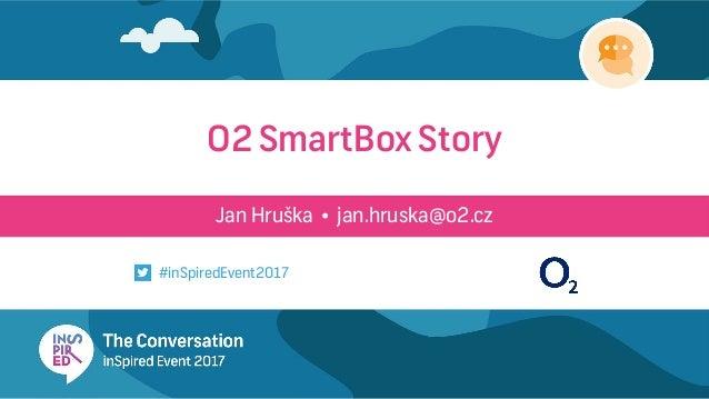 Jan Hruška • jan.hruska@o2.cz O2 SmartBox Story #inSpiredEvent2017