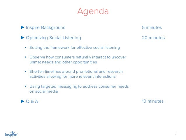 Optimize Social Listening and Monitoring to Uncover Unmet Consumer Needs Slide 2