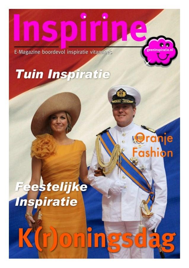 Inspirine EMagazine kroningsdag2013