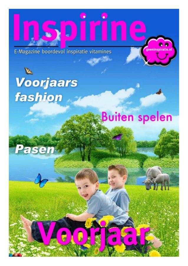 Inspirine EMagazine - Voorjaar2013