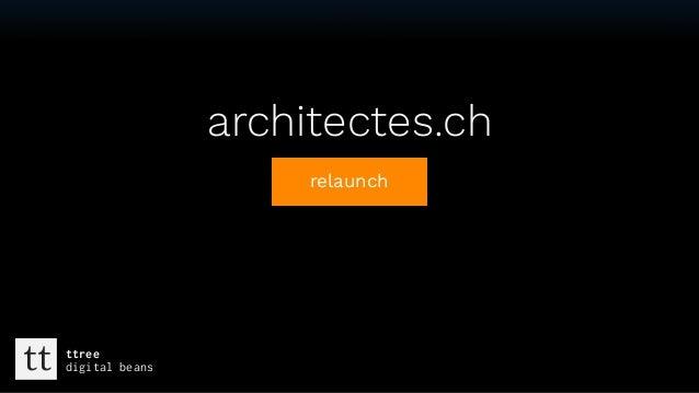 Textarchitectes.ch relaunch tt ttree digital beans