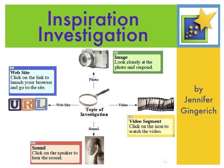 Inspiration Investigation                     by                  Jennifer                 Gingerich