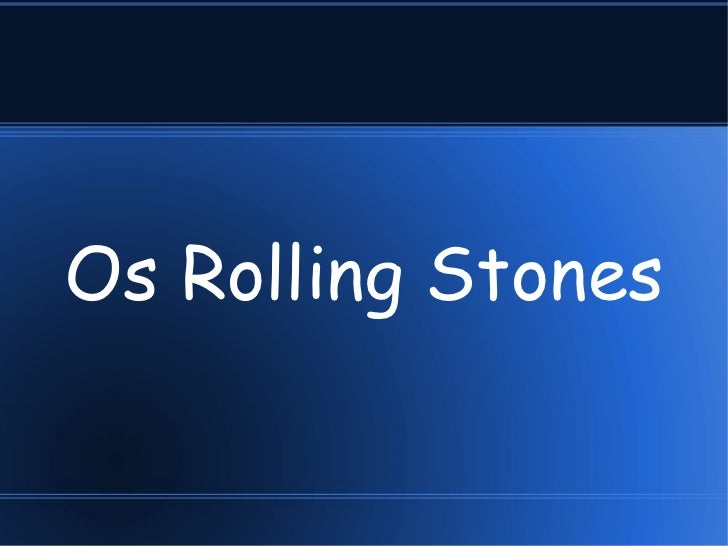 Os Rolling Stones