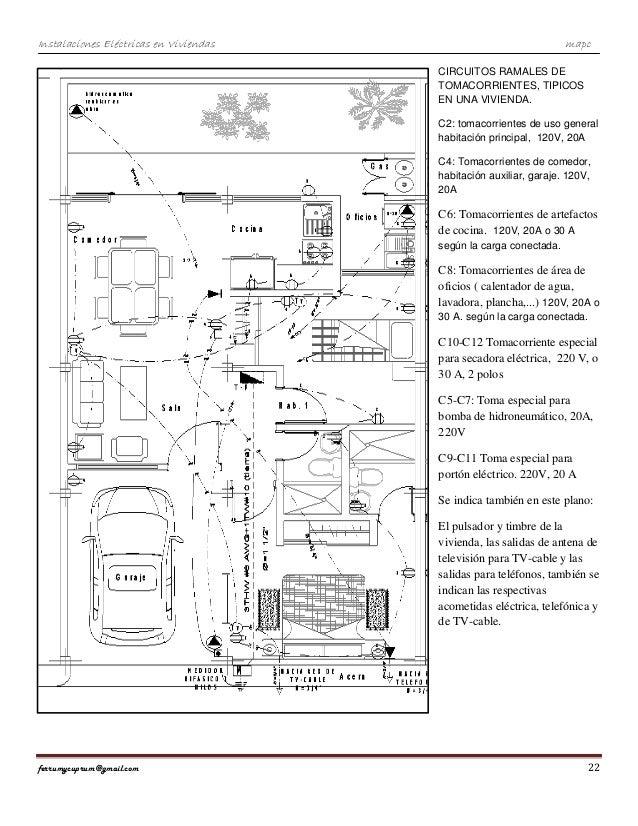 Inst eléctricas en viviendas-mapc. Por Marino A. Pernía C.