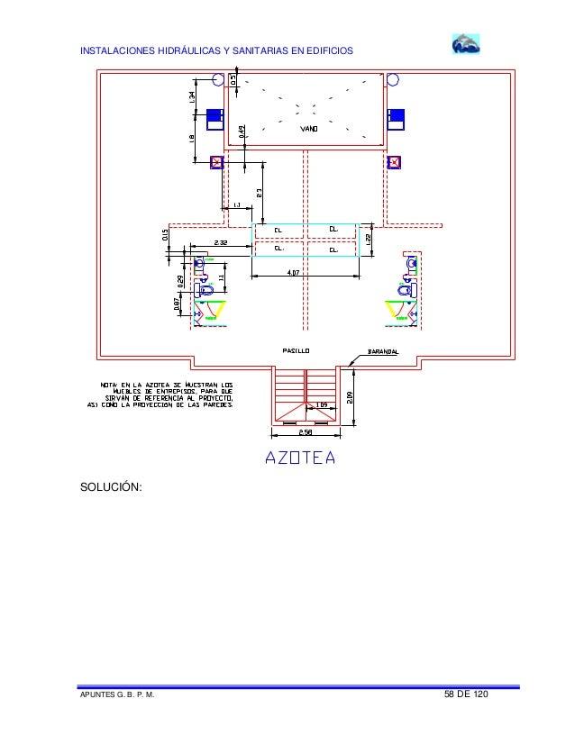 Worksheet. Instalaciones sanitarias para edificios