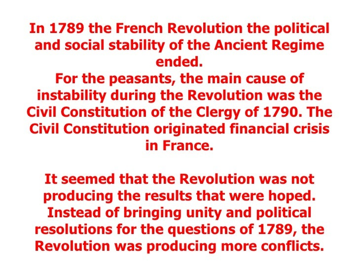 social disparity major cause of the french revolution The social inequality in france in the 18th century was a major cause towards the french revolution simply because france had three estates the first estates was made up of clergy men, the second estate was made up of nobles and aristocracies, and the third estates was made up of commoners and peasants.