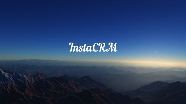 InstaCRM