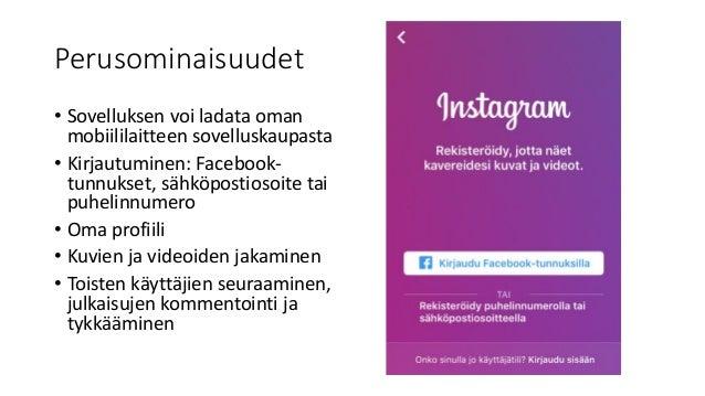 Instagram Seuraaminen