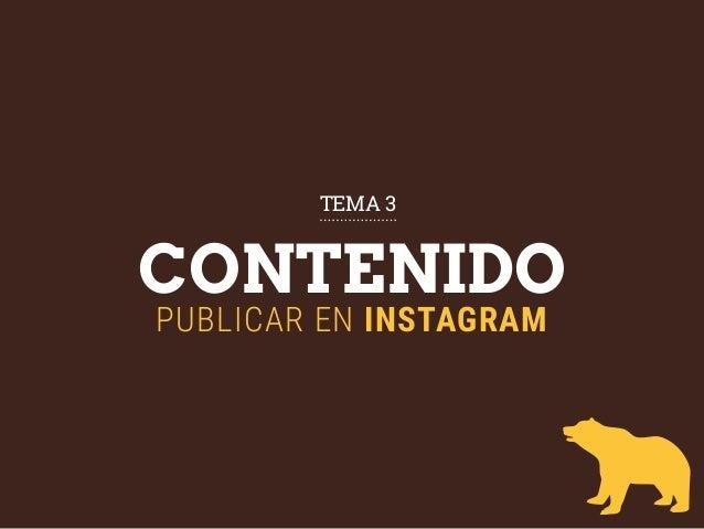 CONTENIDO PUBLICAR EN INSTAGRAM TEMA 3