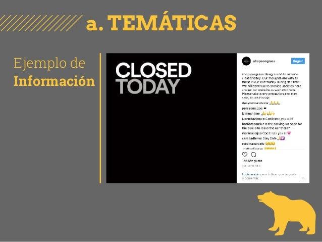 a. TEMÁTICAS Ejemplo de Información