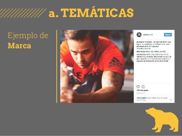 a. TEMÁTICAS Ejemplo de Marca