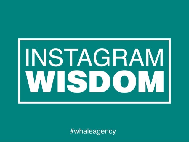 Instagram is all about sharing pictures and videos. We want to help people, brands and organizations master it, so we look...