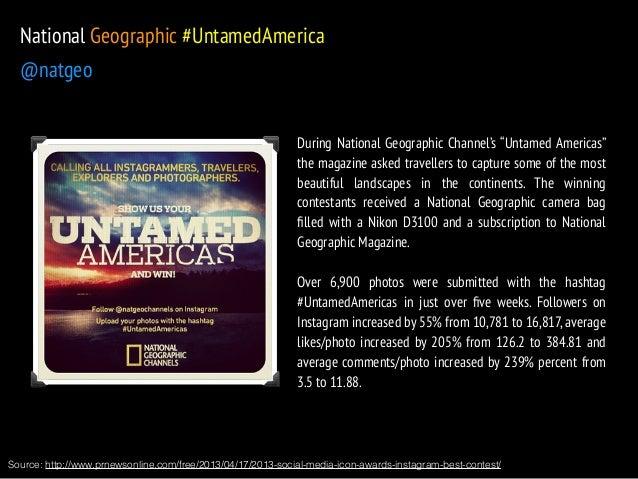 "National Geographic #UntamedAmerica  @natgeo  During National Geographic Channel's ""Untamed Americas""  the magazine asked ..."