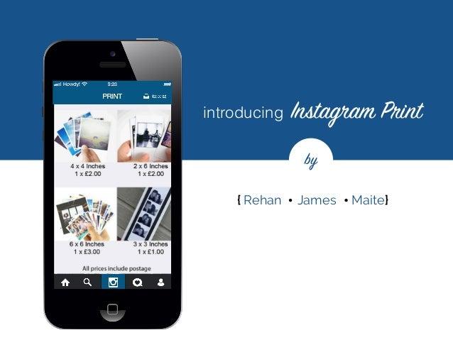 instagram print - case study
