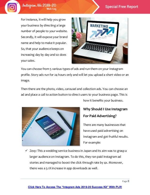 9 case studies where clever instagram marketing got huge results Instagram Ads 2019 20 Special Free Report