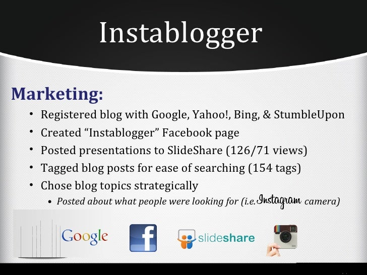 Finding Our Blog1.   Google Search/Images2.   Yahoo! Search3.   Bing/Bing Mobile4.   WordPress1.   Facebook2.   mgt253.wor...